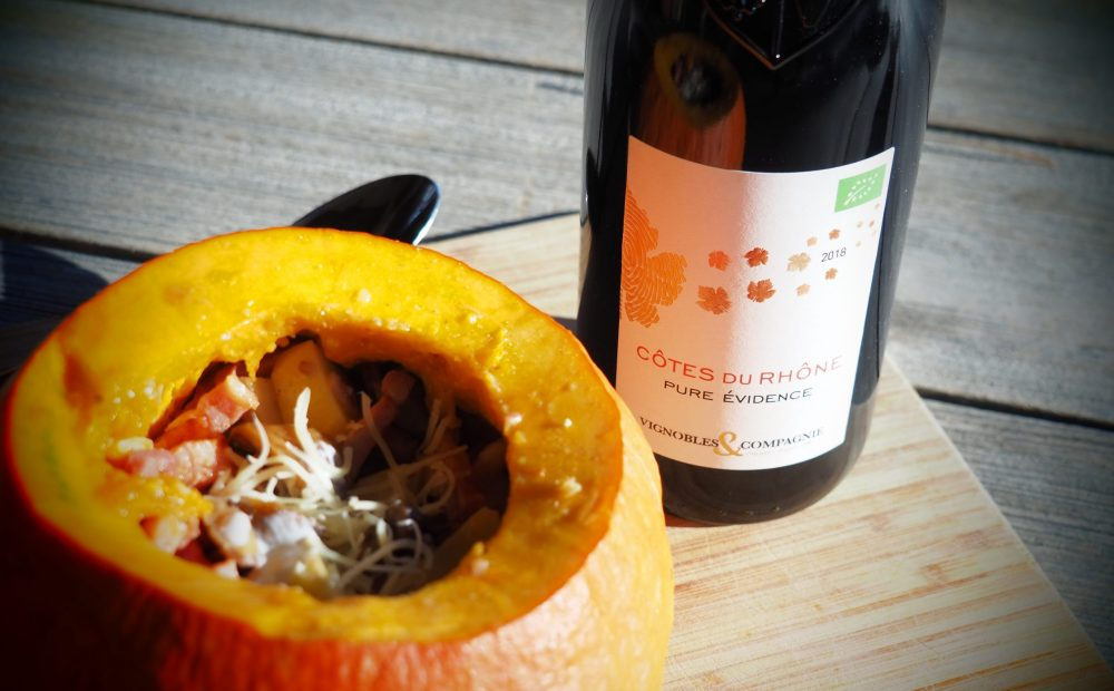 Vignobles & Compagnie recette potimarron